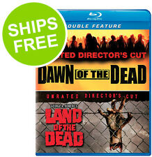 George A. Romero's Land of the Dead / Dawn of the Dead (Blu-ray, 2015) New