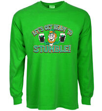 Sale: Men's 2X - St Patricks Day Shirt Funny Saying Beer Drunk Bar Pub Crawl Tee
