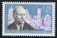 France 1960 MNH Mi 1324 Sc 976 Marc Sangnie,French Roman Catholic thinker **