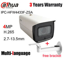 Dahua IPC-HFW4433F-ZSA 4MP IP Camera 2.7mm ~13.5mm Motorized lens POE built-in M