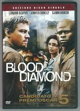 DVD • Blood Diamond Diamanti di Sangue 5 OSCAR LEONARDO DI CAPRIO ITALIANO