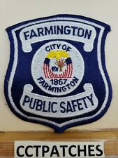 KALAMAZOO MICHIGAN PUBLIC SAFETY FIRE POLICE SHOULDER PATCH