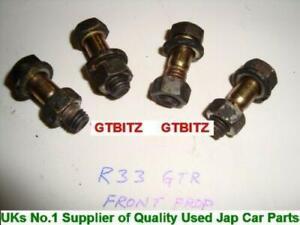 Nissan Skyline GTR R32 R33 R34 Front Propshaft Prop Shaft Bolts & Nuts Set
