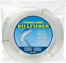 NEW Billfisher Mono Leader Coil 100Lb 100Yds Clear 1.00mm LC100-100
