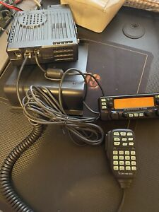 ICOM IC-2720H Dual Band FM Transceiver VHF/UHF Mobile Radio w/ speaker, mic, etc