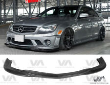 MERCEDES BENZ C CLASS W204 C63 AMG GODHAND STYLE CARBON FIBER FRONT LIP SPLITTER