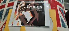 VAN HALEN Providence RI USA 1981 2 cd import Live Concert CD-R  limited EDDIE