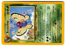 POKEMON SOUTHERN ISLAND N°  9/18 BUTTERFREE PAPILUSION