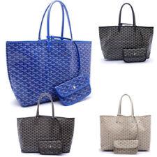 Fashion Women's Tote PM Shopper Bags Canvas/Leather Handbag Shoulder Large Purse