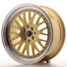 Japan Racing JR10 Alloy Wheel 17x8 - 4x100 / 4x114.3 - ET35 - Gold