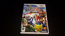 Super Smash Bros. Brawl NINTENDO WII GAME Box + Manual