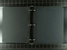 Weeda Supplies: 137 new black quadrille heavy card album pages in binder