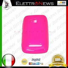 Custodia Cover TPU per Nokia Lumia 610 rosa