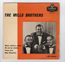 EP 45 TOURS THE MILLS BROTHERS MUSIC MAESTRO PLEASE RE-D 1215 LONDON RECORDS
