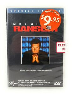 Ransom Special Edition (DVD, 1996) Mel Gibson New & Sealed Region 4 Free Postage