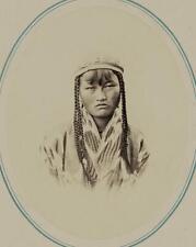 Photo:Central Asia,Turkic people,Kara-Kyrgyz,clothing,c1865 1 3284