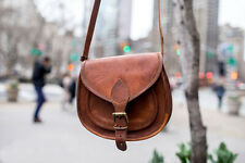 11 In Leather Crossbody Messenger Bag Women Satchel Handbag Shoulder Sling Bags