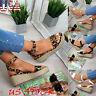 Women Platform Wedge Heel Sandals Ankle Strap Espadrille Shoes Summer Casual USA