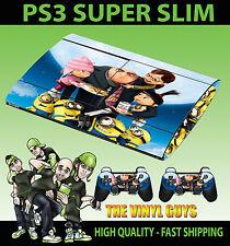 Playstation ps3 super slim méprisable Me gru famille PEAU AUTOCOLLANT & 2 pad peau