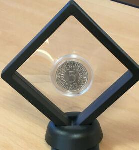 Schweberahmen schwarz 9 x 9 cm für Münzen, Briefmarken, Fotos