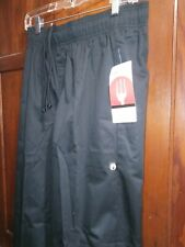 Chef Works Men'S Pants Size Medium Color Black New With Tags