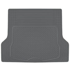 Trunk Cargo Floor Mats for Car SUV Truck Auto All Weather Gray Heavy Duty