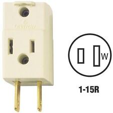 30 Pk Leviton 15A Ivory 1-15P One To Three Plug In Outlet Tap C23-00531-00I
