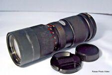 Vivitar 85-205mm f3.8 ZOOM MC for Minolta Lens Used