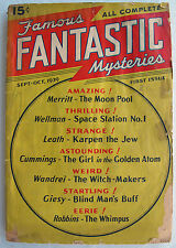 Famous Fantastic Mysteries - FIRST ISSUE - 1939