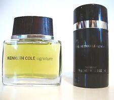 KENNETH COLE SIGNATURE MEN PERFUME EDT 50ML SPRAY 1.7 OZ  & DEODORANT STICK UB