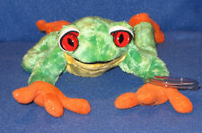 TY PANAMA the FROG BEANIE BABY - MINT with MINT TAGS (PRICE STICKER)