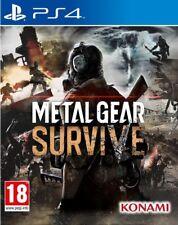 METAL GEAR SURVIVE JEU PS4 NEUF