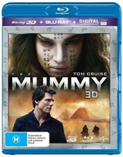 The Mummy (Blu-ray, 2017, 2-Disc Set)