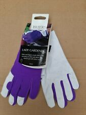 Briers Lady Gardener Gloves - Lilac size 8 Med