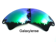 Oakley Replacement Lenses For Fast Jacket XL Green Color Polarized By Galaxylens
