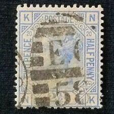 Great Britain SC #68 Used PL #20 1876