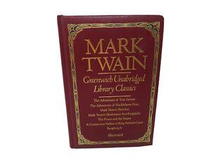 Mark Twain Greenwich Unabridged Library Classics Illustrated
