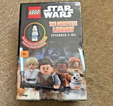 New Lego Star Wars The Complete Library with Force commander Mini Figure Ep 1-7