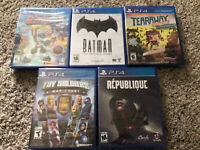 Sealed PS4 Game Bundle - 5 Games