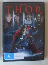 THOR dvd REGION 4 chris hemsworth MARVEL COMICS avengers 2011