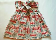 Union Jack London Icon summer spring Baby's Skirt and Headwrap New