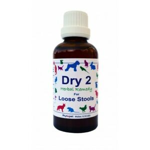 Phytopet Herbal Remedies Dry No 2 30ml Dog Cat Diarrhoea loose stools