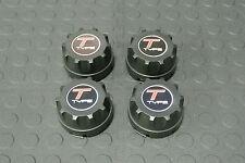 American Racing / Enkei 92 Wheel Rim Center Caps 89 8064 w/ T Type Logo Set (4)