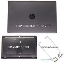TOP LCD COVER FOR HP 250 G6 255 G6 TPN-C129 TPN-C130 Rear Back Lid Bezel +Hinges