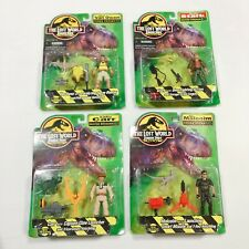 Vintage Jurassic Park The Lost World Figure Set Husbro 1996