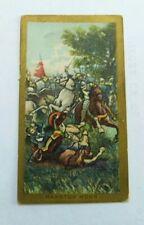 American Tobacco Company Cigarette Card c.1901 Battle Scenes Marston Moor
