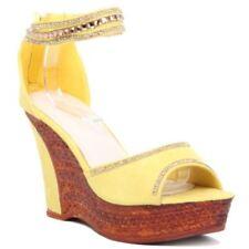 Sandali e scarpe con zeppa in camoscio sintetico per il mare da ... 158f8481d54