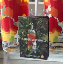 Absolut Vodka Tropics Book. Booklet For 1L Bottle.