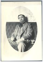 H. Blancard, France, Portrait de Mr. Marquet  Vintage print. Acteurs du Théâtre