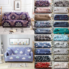 1 2 3 4 Seater Stretch Sofa Cover Couch Elastic Fabric Slipcover Protector Decor